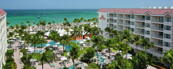 25 popular resorts | popular timeshares for honeymoons  3. Marriott Aruba Surf Club