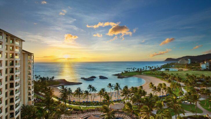 25 popular resorts | popular timeshares for honeymoons  5. Marriott's Ko Olina Beach Club