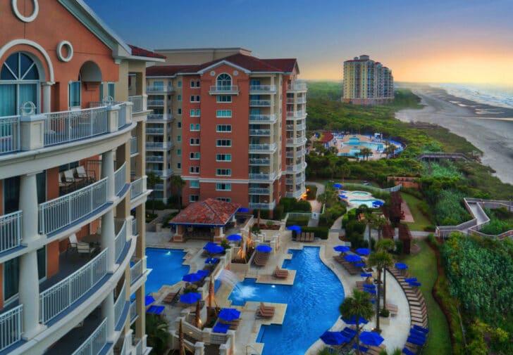 25 popular resorts | popular timeshares for honeymoons  6. Marriott's OceanWatch Villas at Grande Dunes