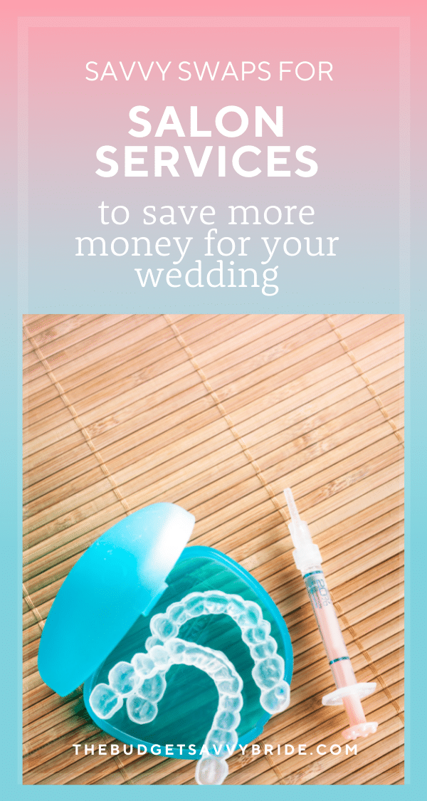 Need to cut back on spending so you can save more money for your wedding? Check out these savvy at-home beauty swaps for your favorite professional beauty treatments!