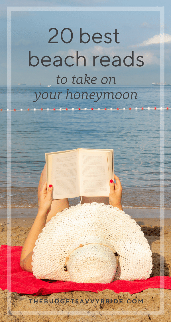 Looking for the perfect beach read for your tropical honeymoon trip? We've rounded up 20 page-turning books to take on your beach honeymoon.