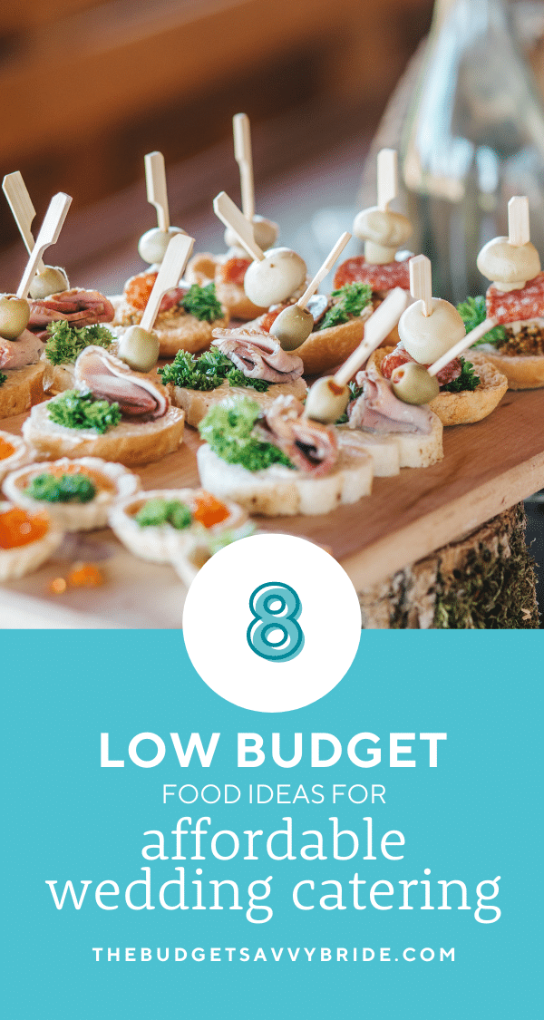 Looking for ways to cut costs for your big day? Don't miss these affordable wedding catering ideas to feed your guests on a budget!