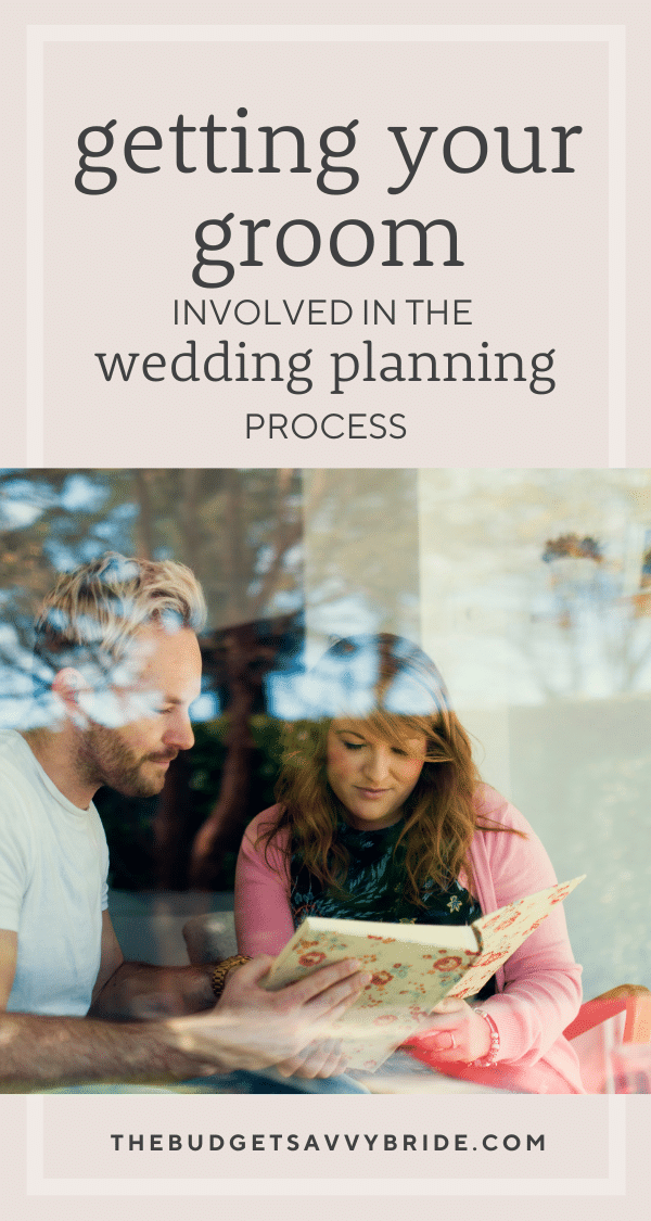 Want to get your groom involved in the wedding planning process? Check out these three tips from the guys at Sartoro.