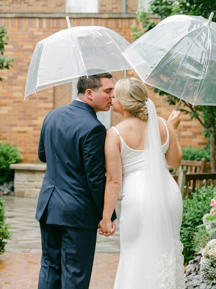 raindy day wedding