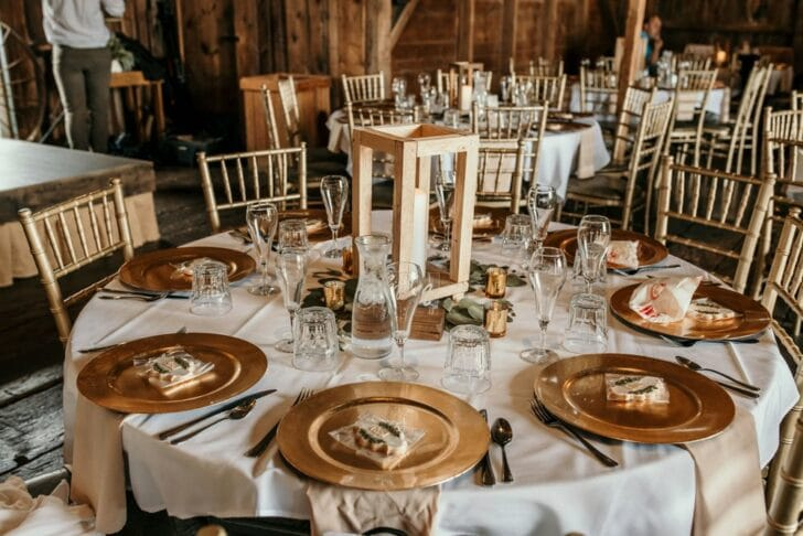 wedding decor - tablescape