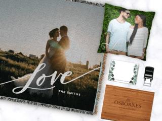 Shutterfly meaningful wedding gift ideas