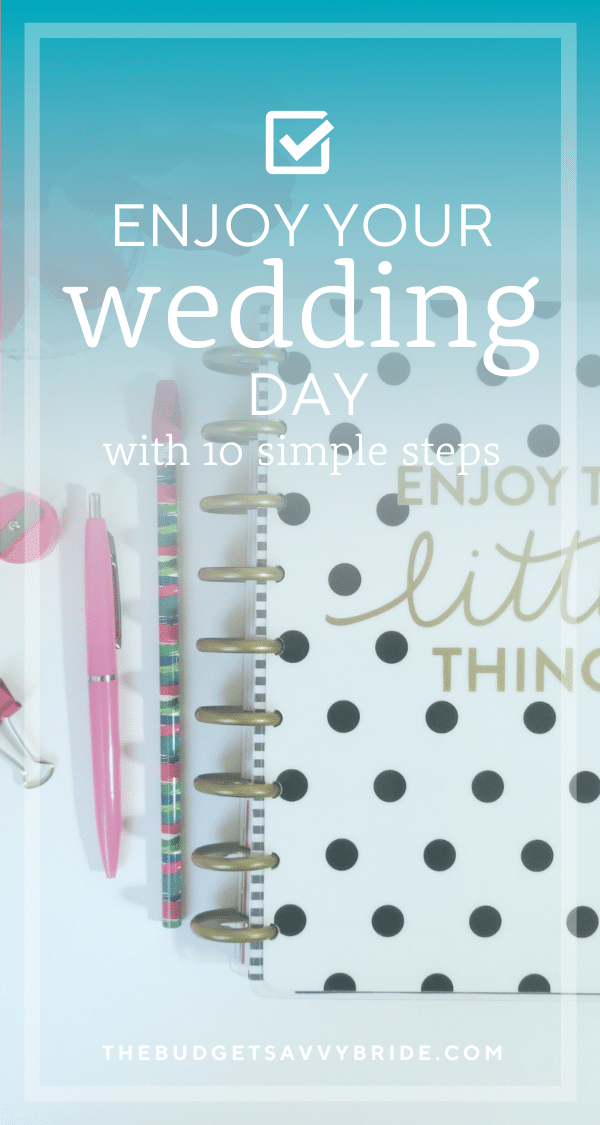 Want to ensure your wedding day goes smoothly? Don't miss this advice on how to best prepare for a fun and stress-free wedding day.