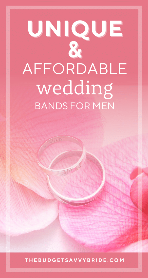 Looking for a special ring for the groom? Don't miss this selection of Unique men's wedding bands from retailers we love.
