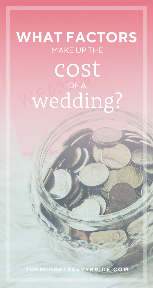 Weddings are a time filled with joy but also have become synonymous with spending a lot of money. Learn more about the average cost of a wedding and why it does (and doesn't) matter.