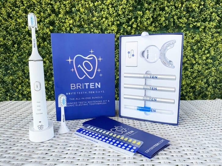 briten teeth whitening at home
