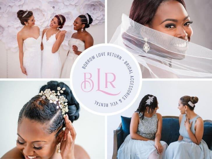 online wedding rental companies - Borrow Love Return