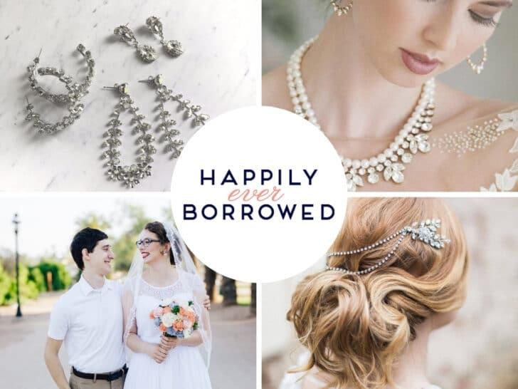 online wedding rental companies - Happily Ever Borrowed