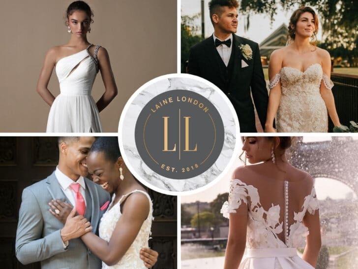 online wedding rental companies - Laine London