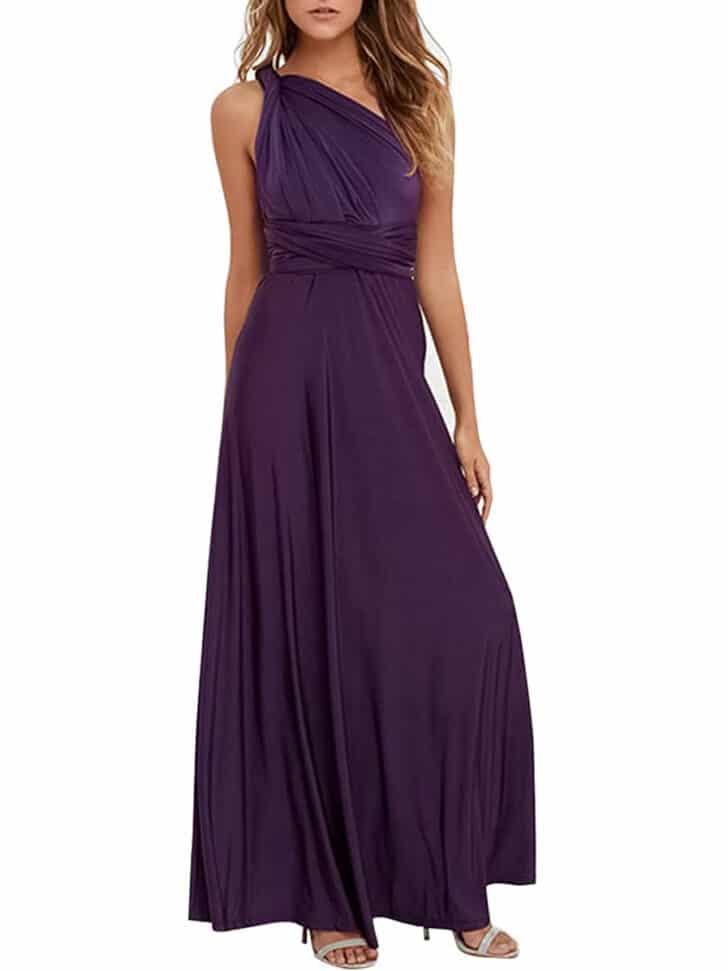 Amazon otoño vestidos de dama de honor
