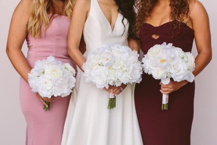 Traditional Wedding Floral Style - Something Borrowed Blooms - Audrey Collection