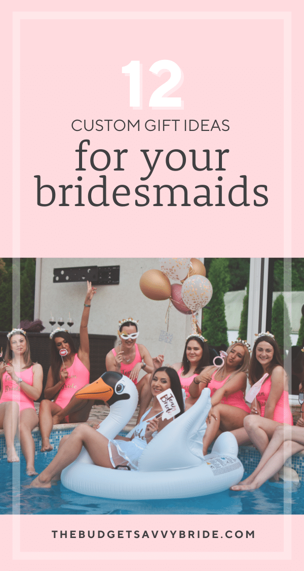 Looking for some cute and creative custom bridesmaids gift ideas for your besties? Check out this list of bridesmaids gifts from a variety of our favorite online shops!