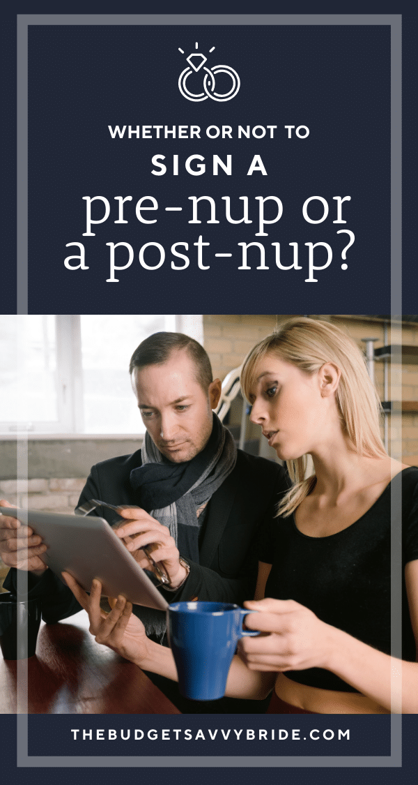 Prenups vs Postnups - what's the difference? What are the pros and cons of each of these legal agreements? Find out in this post that explores the details of nuptial agreements.