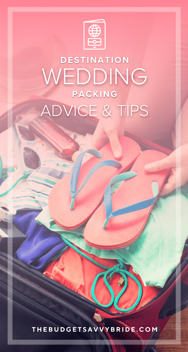 Having a destination wedding? Don't let packing for the big day and honeymoon overwhelm you. Check out this list of tips for packing for a wedding abroad the simple and savvy way!