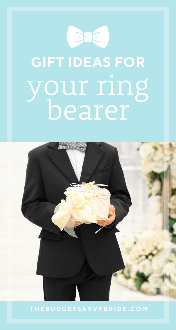 If you're hunting for gift ideas for your ring bearer, don't miss this list! We've rounded up some meaningful keepsake gifts for ring bearers!