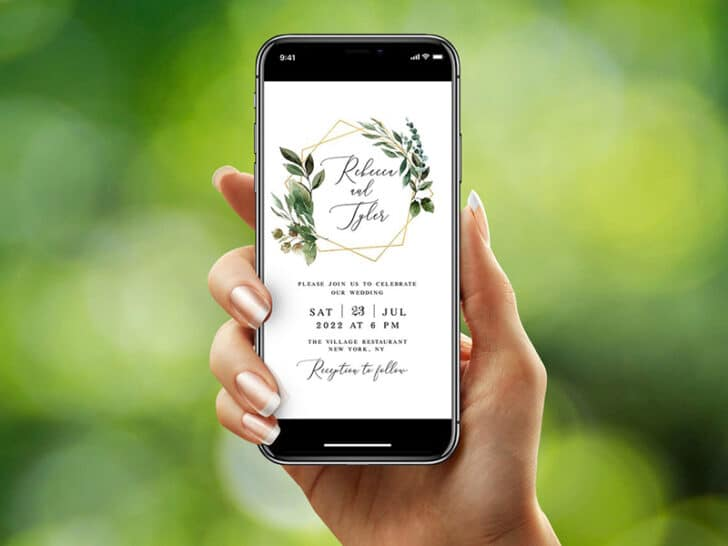 The Top Sites for Digital Wedding Invitations: Etsy
