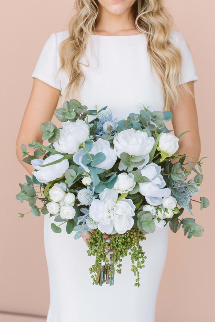 Traditional Wedding Floral Style - Something Borrowed Blooms - Jane Collection
