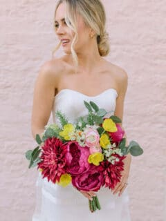 Bohemian Wedding Floral Style - Something Borrowed Blooms - Kinsley Collection
