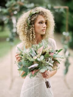 Bohemian Wedding Floral Style - Something Borrowed Blooms - Laurel Collection