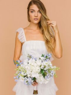 Modern Wedding Floral Style - Something Borrowed Blooms - Millie Collection
