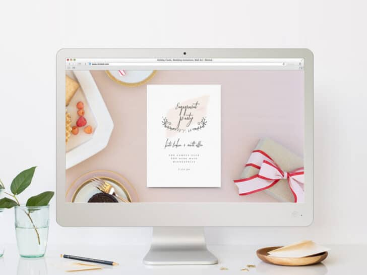 The Top Sites for Online Wedding Invitations: Minted