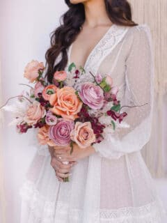 Bohemian Wedding Floral Style - Something Borrowed Blooms - Nina Collection