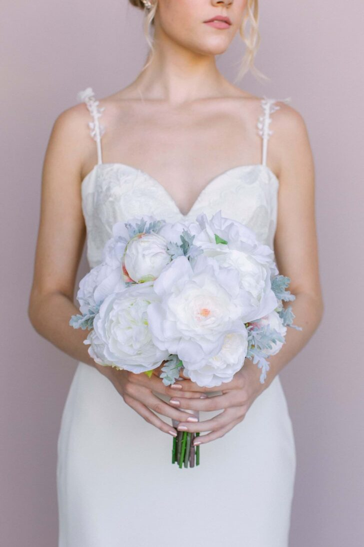 Traditional Wedding Floral Style - Something Borrowed Blooms - Sophia Collection