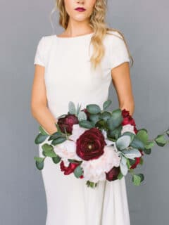 Rustic Wedding Floral Style - Something Borrowed Blooms - Stella Collection