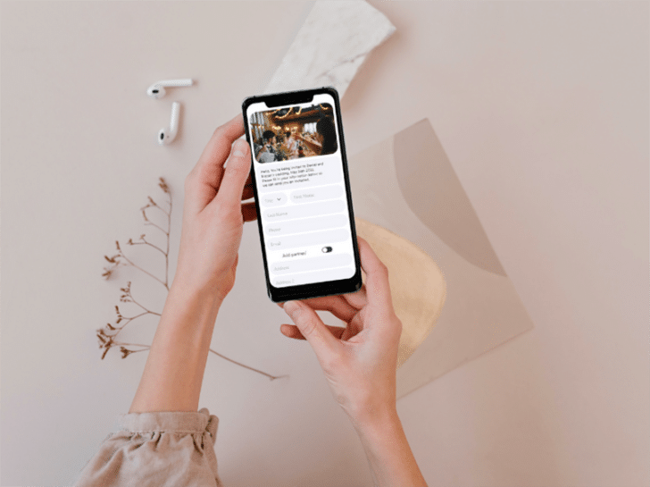 TextMyLink App - Collect Wedding Guest Addresses in a Simple and Savvy Way!