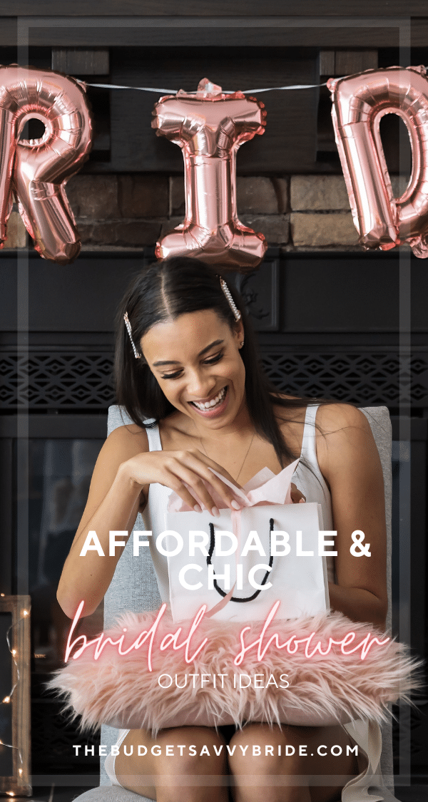 Looking for a chic but affordable bridal shower outfit for your pre-wedding parties? Check out this epic roundup of styles for every bride!