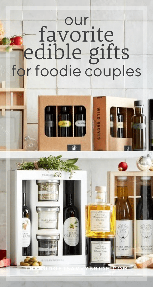 Looking for great wedding gifts for foodies? Don't miss these unique and delightful gift options for any food lover you know, perfect for any gifting occasion.