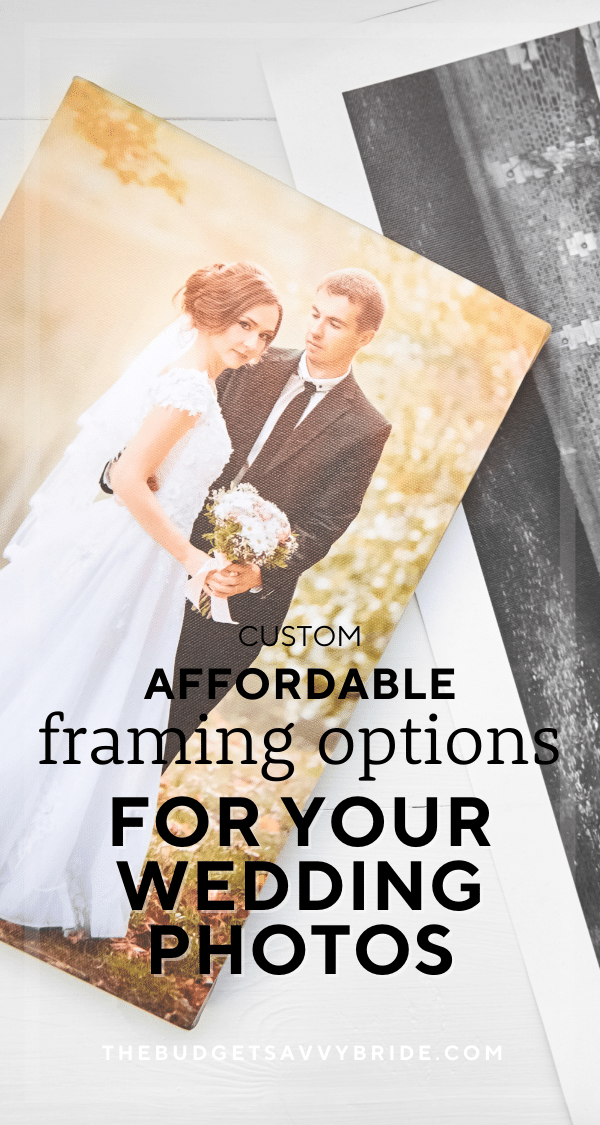 Looking for the perfect place to print and custom frame your treasured wedding photos? Check out these fab online companies for affordable custom framing of your favorite wedding photos!