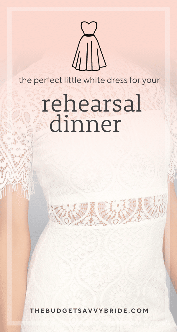 Looking for the perfect little white dress for your rehearsal dinner outfit? Check out these stunning picks for your rehearsal dinner attire!