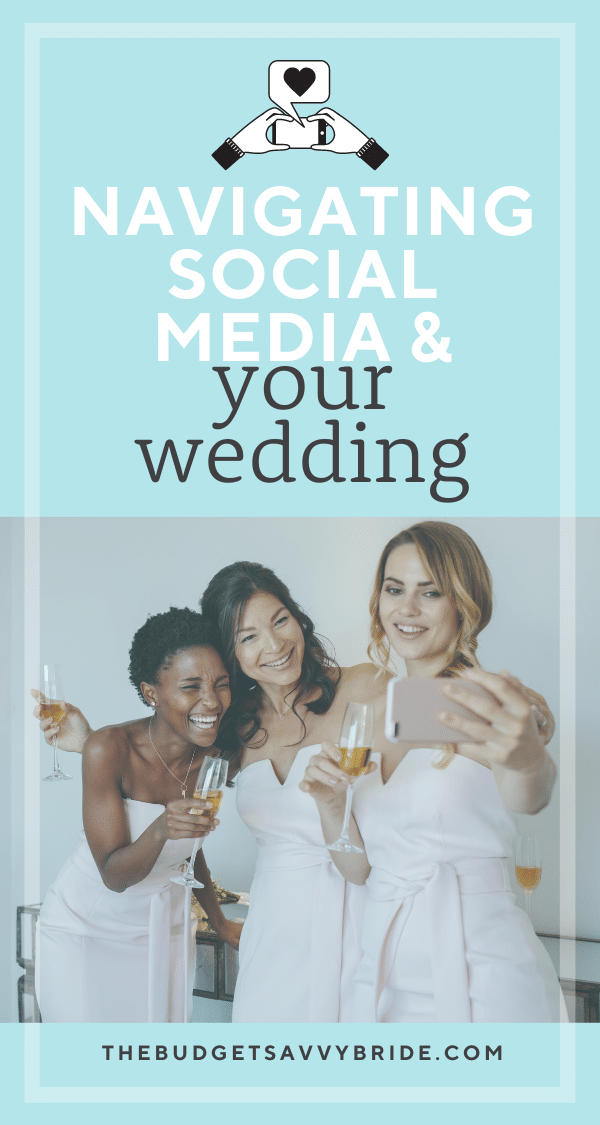 Social media is a big aspect of our daily lives, so of course couples utilize it to document their wedding day. But it's important to approach it with balance. Learn how to lean in, but not too far.