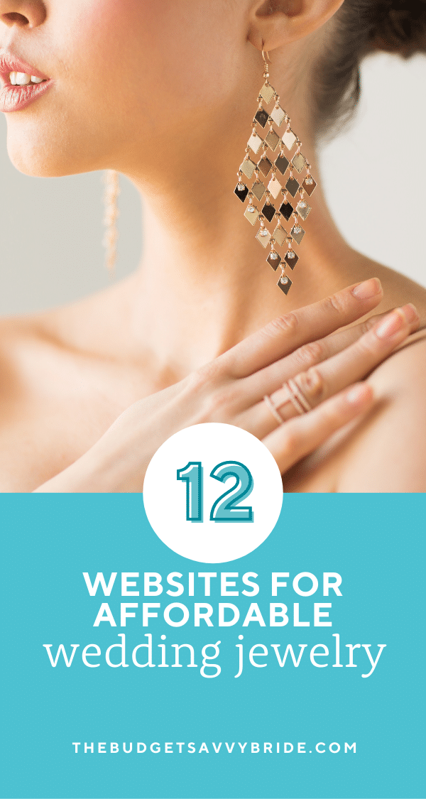 Looking for beautiful wedding jewelry on a budget? Check out these resources for wedding accessories that won't break the bank!