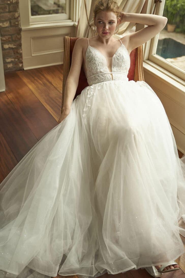 Acappella Dress - Vow'd Fall 2021 Wedding Dress Collection
