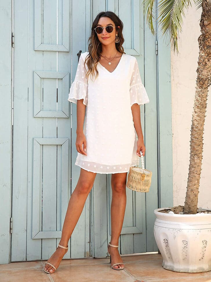 Amazon Bridal Shower Dress - Mini Sun Dress