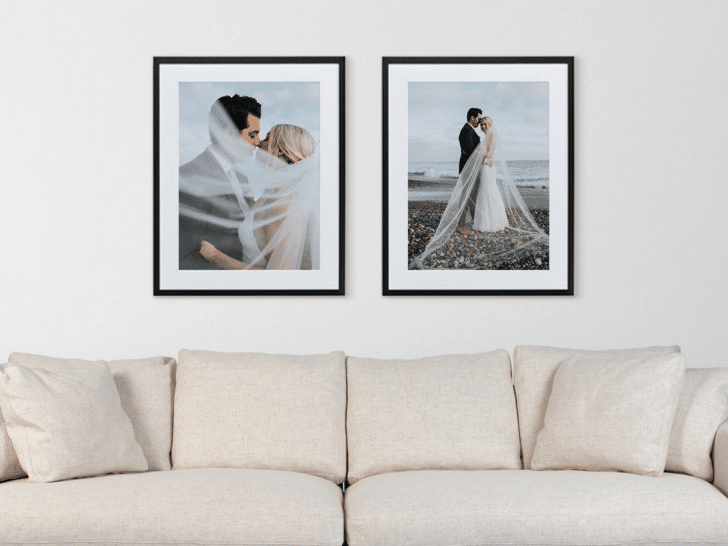 CanvasPop Affordable Custom Photo Frames for Your Wedding Photos