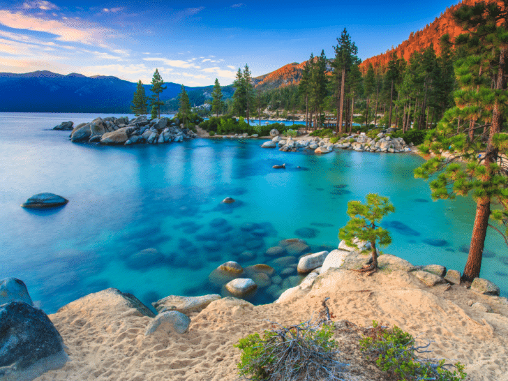 Lake Tahoe affordable honeymoon destinations