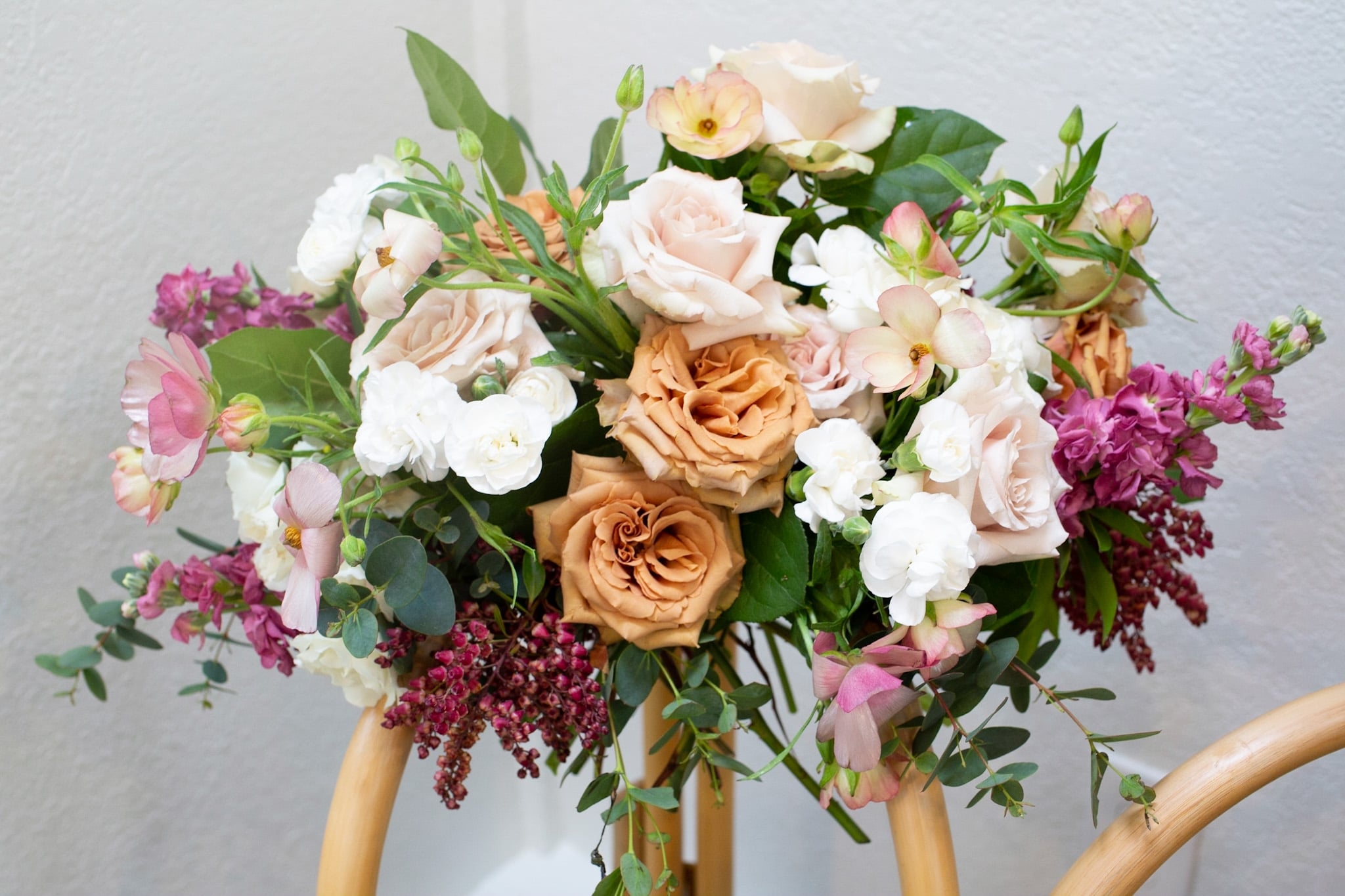 Holly Chapple Egg Wedding Bouquet Tutorial