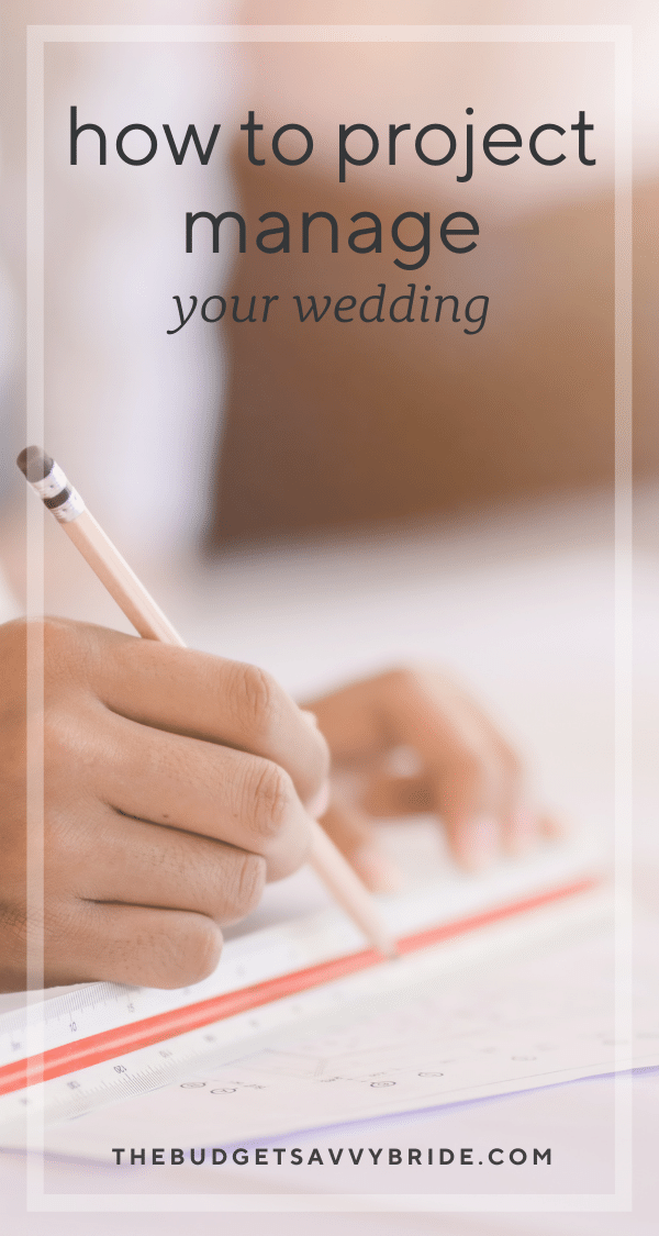 Thinking about tackling your wedding planning on your own? Do it with confidence using this wedding planning advice from a project manager's perspective.