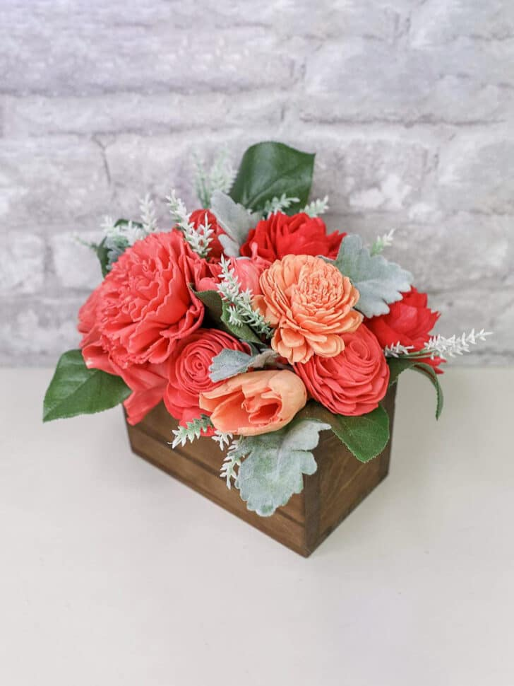 Sola Wood Flowers The Budget Savvy Bride Collection Centerpiece