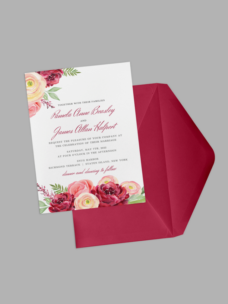 nickell wedding invitations