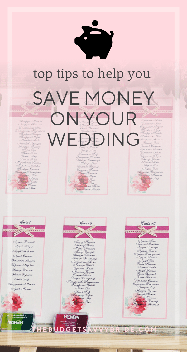 Looking for ways to cut costs for your wedding? Here are three simple tips that will help keep your spending in check.