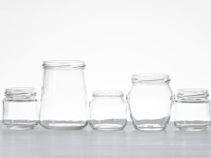 jars for a wedding candy buffet